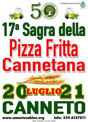 Sagra della Pizza Fritta Cannetana 2019 a Canneto (RI) | Sagre nel Lazio