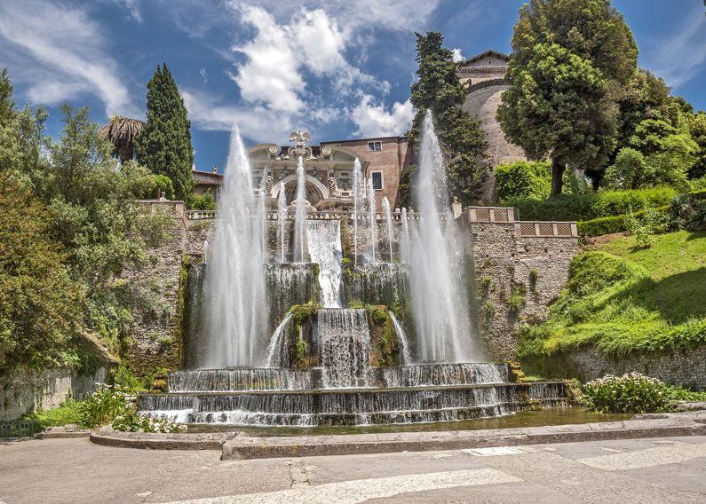 Villa d'Este a Tivoli (RM) | Siti UNESCO del Lazio