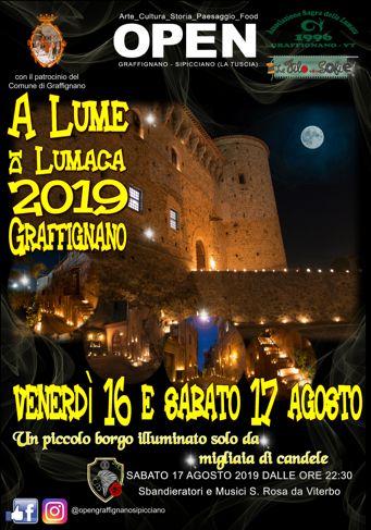 A Lume di Lumaca 2019 a Graffignano (VT) | Feste Medievali nel Lazio