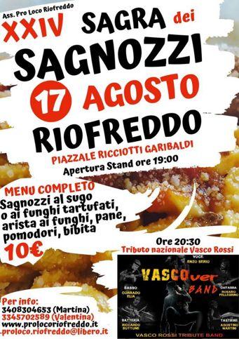 Sagra dei Sagnozzi 2019 a Riofreddo (RM) | Sagre nel Lazio