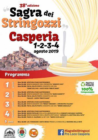 Sagra dei Stringozzi 2019 a Casperia (RI) | Sagre nel Lazio
