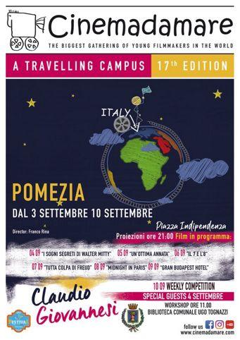 Cinemadamare 2019 a Pomezia (RM) | Eventi Cinematografici nel Lazio