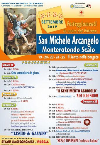 Festa del Patrono San Michele Arcangelo 2019 a Monterotondo Scalo (RM) | Feste Patronali del Lazio
