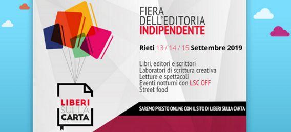 Fiera dell'Editoria Indipendente 2019 a Rieti (RI) | Fiere nel Lazio