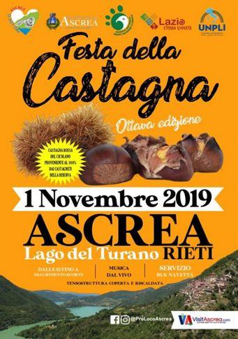Festa della Castagna 2019 ad Ascrea (RI) | Sagre nel Lazio