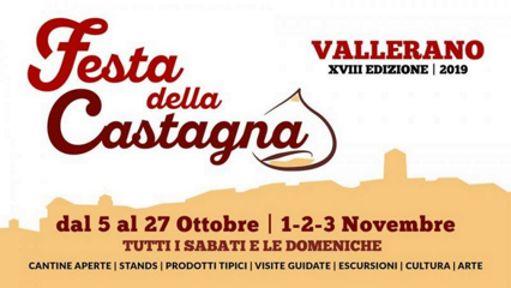 Festa della Castagna 2019 di Vallerano (VT) | Sagre nel Lazio