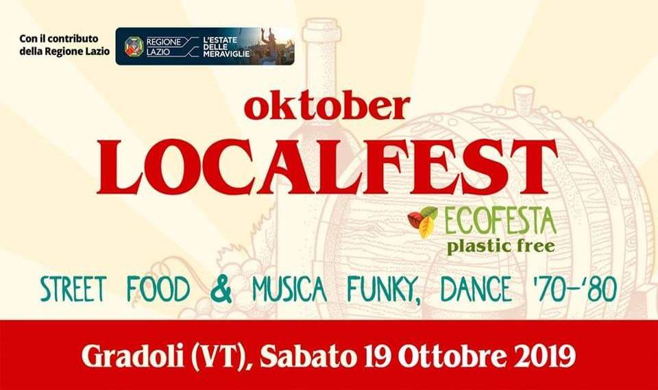 Oktober Localfest 2019 a Gradoli (VT)