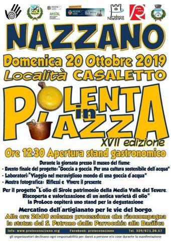 Polenta in Piazza 2019 a Nazzano (RM) | Sagre nel Lazio