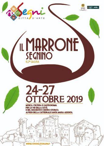 Sagra del Marrone 2019 a Segni (RM) | Sagre nel Lazio