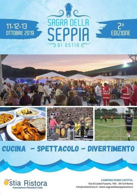 Sagra della Seppia 2019 a Ostia - Castelfusano (RM) | Eventi gastronomici nel Lazio