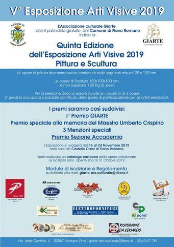 Esposizione di Arti Visive 2019 a Fiano Romano (RM) | Rassegne artistiche nel Lazio