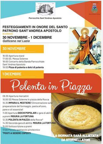 Festa del Patrono Sant'Andrea Apostolo 2019 a Gallicano nel Lazio (RM) | Feste patronali nel Lazio