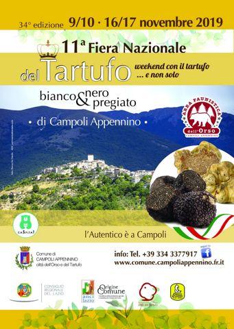 Fiera del Tartufo Bianco e Nero 2019 a Campoli Appennino (FR) | Fiere nel Lazio