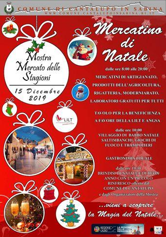 Mercatino di Natale 2019 a Cantalupo in Sabina (RI) | Mercatini di Natale nel Lazio