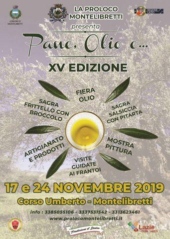 Pane, Olio e... 2019 a Montelibretti (RM) | Eventi Enogastronomici nel Lazio