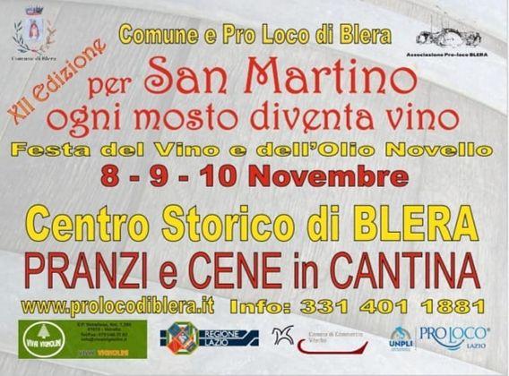 Per San Martino ogni mosto diventa vino 2019 a Blera (VT) | Eventi Enogastronomici nel Lazio