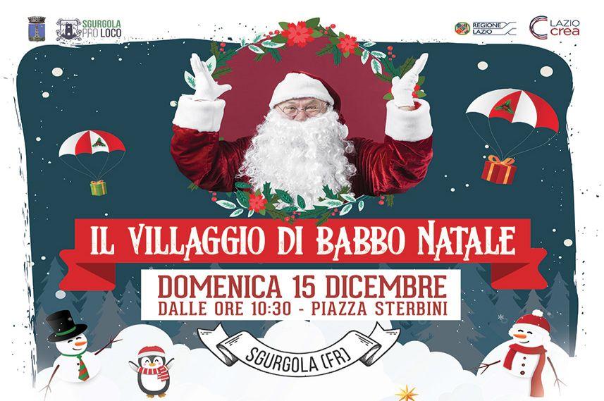 Il Villaggio di Babbo Natale a Sgurgola