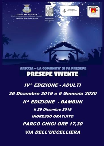 Presepe Vivente 2019 di Ariccia (RM) | Presepi Viventi e Artistici del Lazio