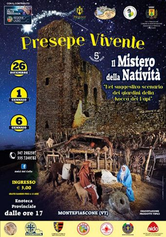Presepe Vivente 2019 a Montefiascone (VT) | Presepi Viventi e Artistici del Lazio