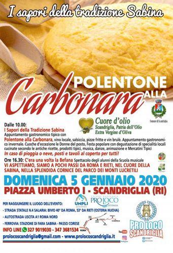 I Sapori della Tradizione Sabina 2020 a Scandriglia (RI)   Sagre nel Lazio