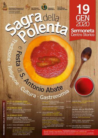 Sagra della Polenta 2020 a Sermoneta (LT) | Sagre nel Lazio