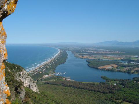 Lago di Sabaudia dal Centro Visitatori | Escursioni, Sentieri e Trekking nel Lazio