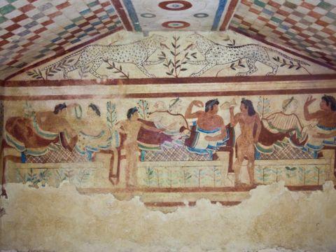 Necropoli dei Monterozzi a Tarquinia (VT) | Siti UNESCO nel Lazio