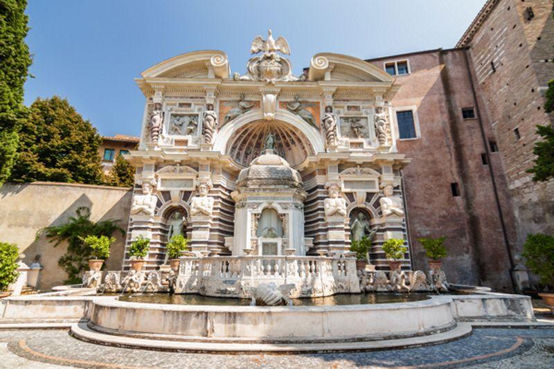 La Fontana dell'Organo a Villa d'Este | Cosa vedere a Villa d'Este