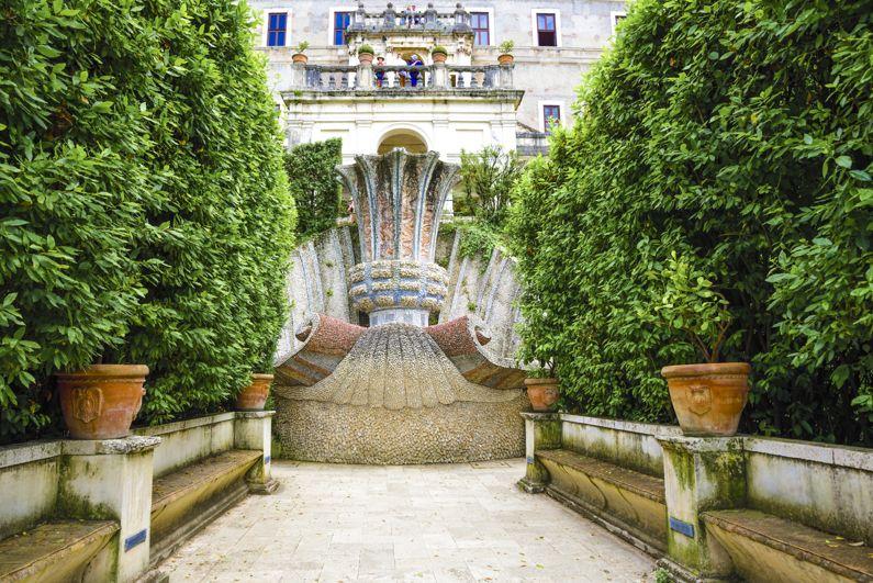 La Fontana del Bicchierone a Villa d'Este | Lazio Nascosto