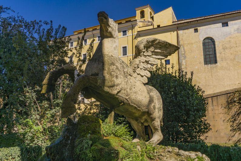 La Fontana di Pegaso a Villa d'Este | Lazio Nascosto