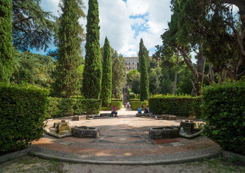 La Rotonda dei Cipressi a Villa d'Este | Lazio Nascosto