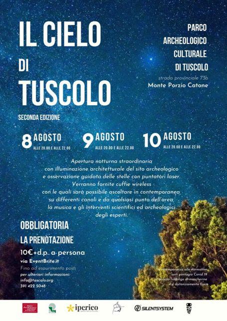Il Cielo di Tuscolo 2020 a Monte Porzio Catone | Lazio Nascosto