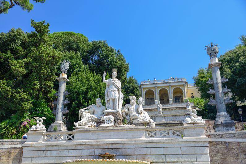 Passeggiata del Pincio | Cosa vedere a Roma