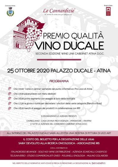 Vino Ducale 2020 ad Atina (FR)   Festival e rassegne nel Lazio