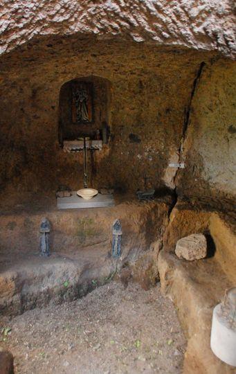 Grotta di San Bonaventura a Civita di Bagnoregio (VT) - © Luca Bellincioni   Lazio Nascosto