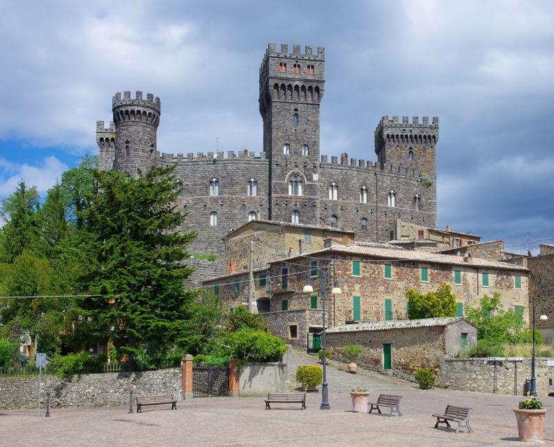 Rive del Torrente Paglia da Torre Alfina | Escursioni, Sentieri e Trekking nel Lazio