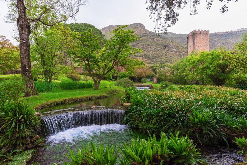 Oasi e Giardino di Ninfa - I Parchi Naturali, Riserve e Oasi del Lazio