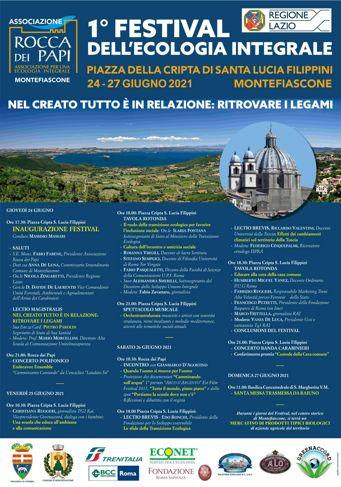 Festival dell'Ecologia Integrale 2021 a Montefiascone (VT)   Lazio Nascosto