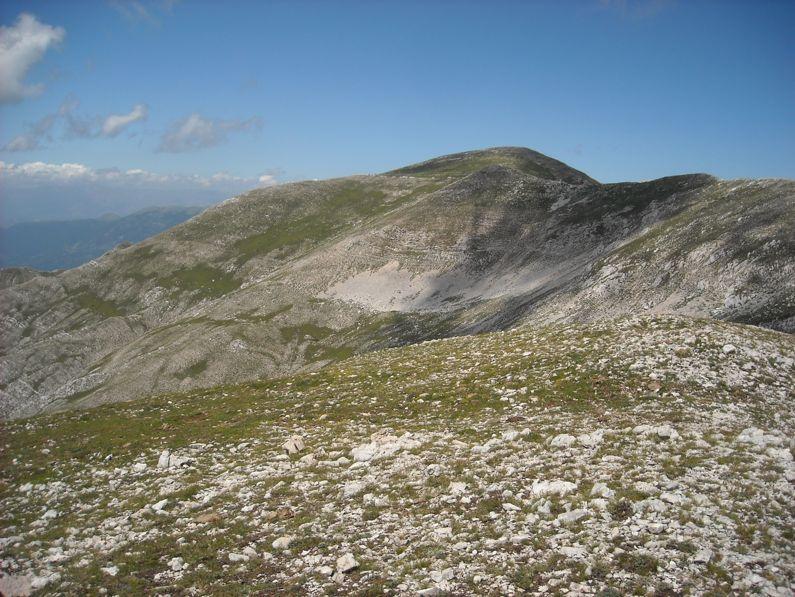 Monte del Passeggio da Prato di Campoli | Lazio Nascosto