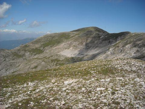Monte del Passeggio da Prato di Campoli   Lazio Nascosto
