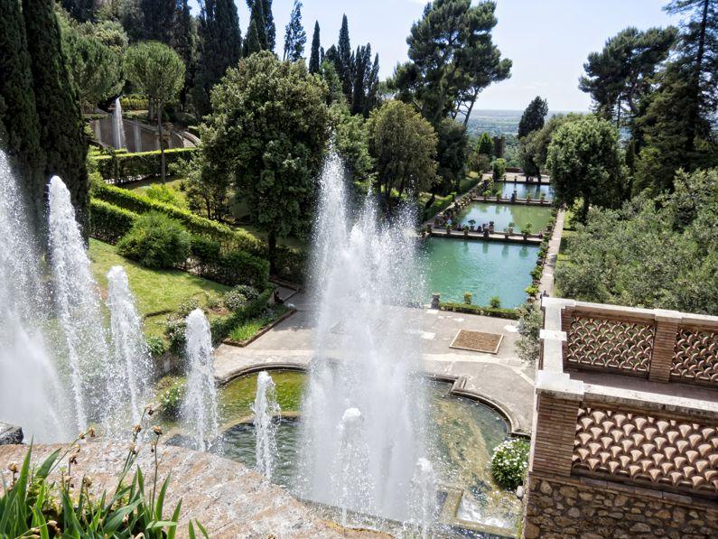 Il Giardino di Villa d'Este a Tivoli (RM) | Lazio Nascosto